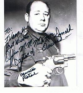 Photo& 2 letters from PO Mcdonald who captured Oswald