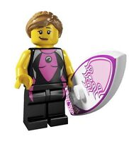 LEGO MINIFIGURINES COLLECTIBLES - SURFER GIRL - MINT!
