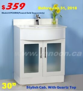 Blow Sale on Bathroom Vanities with Top - Package - $314 up!