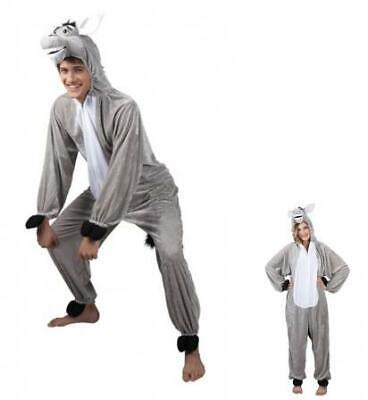 Boland Anzug für Erwachsene Esel Plüsch Größe L Kostüme
