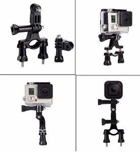 Gopro Accessories Motorcycle Bicycle Bike Handlebar