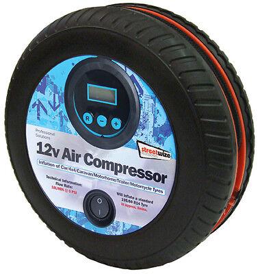TYRE SHAPE 250PSI DIGITAL AIR COMPRESSOR SWAC15