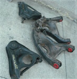 1970's F Body Upper & Lower Control Arms - New Urethane Bushings