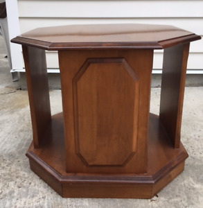 Solid Maple Side Table