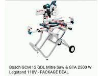 Bosch GCM 12 GDL PROFESSIONALS MITRE SAW 110V