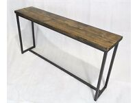 Revolution Console Table / Bench - Brand New