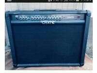 Crate gt212. 120 watt 3 channel amp.