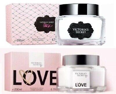 VICTORIAS SECRET FRAGRANCE BODY CREAM TEASE LOVE 6.7 oz 200 ml New Free Shipping 200 Ml Body Cream