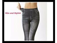 2 Pack Slim Jeggings 1 Blue 1 Black Brand New (online shop)