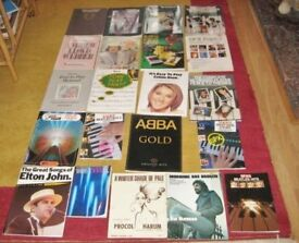 Nice Selection Of Sheet Music Books For Piano Or Organ.