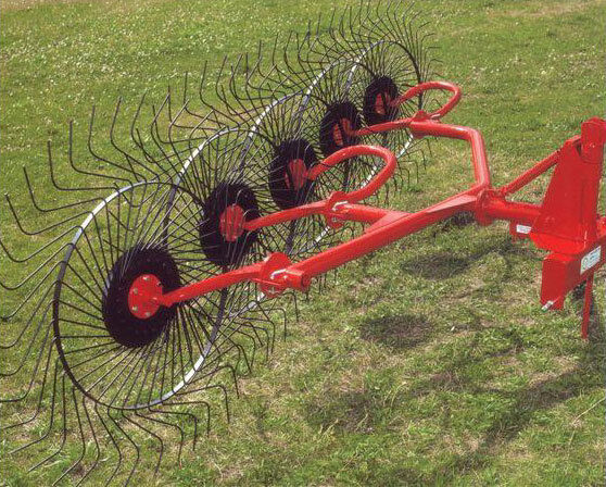 New Enrossi 3 Point 5 Wheel Hay Rake FREE 1000 MILE DELIVERY FROM KENTUCKY