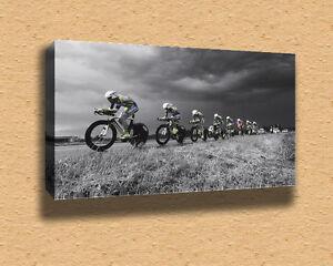 Cycling-Marathon-Framed-Canvas-Print-A2-16-x-24