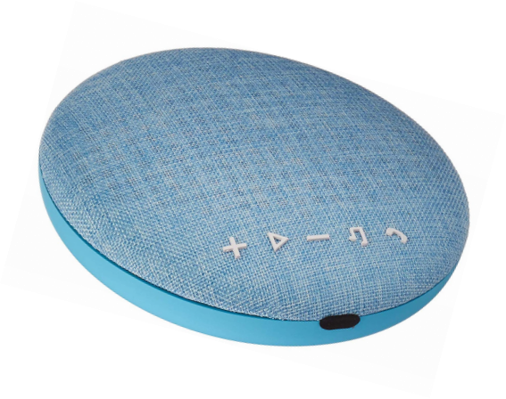 Audio Docks & Mini Speakers Large Wireless Bluetooth Fabric Speaker Sporting Deco Series Speaker By Tzumi Consumer Electronics