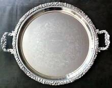 Silver-plated Tray - Reproduction Old Sheffield Paralowie Salisbury Area Preview