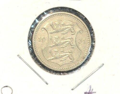 Estonia 1931  10 Senti  KM 12  XF