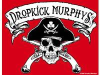 Dropkick Murphys - Dunfermline, Alhambra (SWAP for seating)