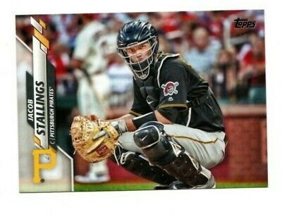 2020 Topps Series 2 Base #598 Jacob Stallings  - Pittsburgh Pirates