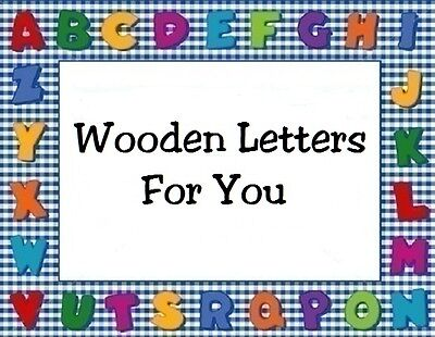 Wooden Letters For You
