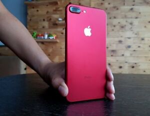 "Apple IPhone 7 Plus 128Gb ""Limited Edition"" Product Red For Sale"