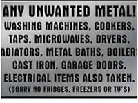 Free metal uplifts