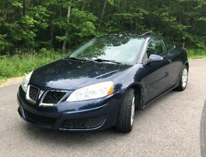 2009 Pontiac G6 Coupe (2 door)