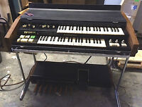 Hammond X5 and Leslie 760