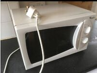 Whirlpool microwave. Free local delivery