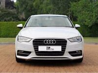 audi a3 white 63 plate. 59,000 miles. excellent condition.