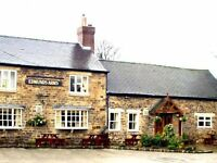 Edmunds Arms, Worsbrough Village,Barnsley. Joint Management Couple