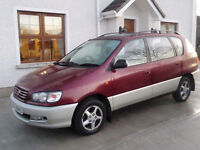 wanted toyota picnic petrol models nissan almera up to 1999