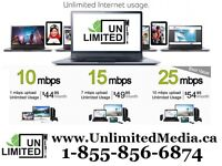 Unlimited Internet, Home Phone, TV & Movies