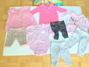 Baby Girl (0-3 m) OshKosh Dress NEW, 8 pc. (Great Gift)