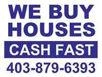 We're Cash Home Buyers! (Calgary)