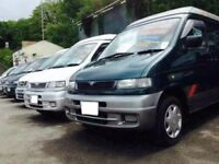 MAZDA BONGO/FREDA 2.5 TD/ELGRAND/SPECIALIST 8 SEATER MPV LIFT & FLAT TOPS /CAMPERS/DAY VANS/SURF BUS