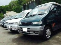 MAZDA BONGO /NISSAN ELGRAND SPECIALIST WITH YEARS OF EXPERIENCE 8 SEATER LIFT & FLAT TOPS/CAMPERVANS