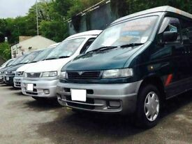 MAZDA BONGO /NISSAN ELGRAND/TOYOTA GANVIAR SPECIALIST WITH YEARS OF EXPERIENCE 8 SEATER LIFT & FLAT