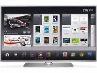 "lg 50"" slim led smart tv (no stand)"
