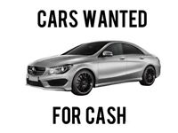 SCRAP CARS & VANS WANTED FOR CASH WILL BEAT ANY QUOTE