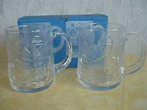 2 ARC Gläser Winterseidel Henkelseidel Glühwein Punsch Tee
