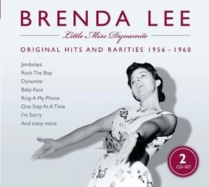 BRENDA LEE - BRENDA LEE - LITTLE MISS DYNAMITE - CD DOC