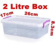 2 Litre Plastic Container