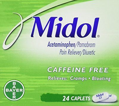Midol Menstrual Pain, Cramp, & Bloating Relief 24 Caplets