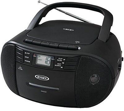 JENSEN CD-545 PORTABLE CD CASSETTE RECORDER WITH AM/FM RADIO Misc