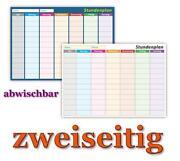 Stundenplan Abwischbar