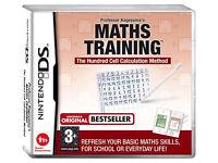 Maths Training Nintendo DS