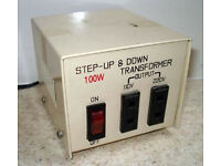 Step Up/Down 100 Watt transformer / voltage converter