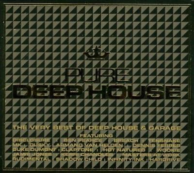 VARIOUS ARTISTS - PURE DEEP HOUSE: THE VERY BEST OF DEEP HOUSE & GARAGE