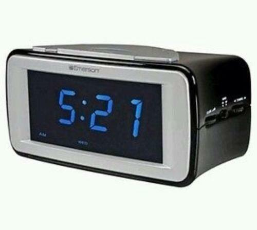emerson clock radio ebay. Black Bedroom Furniture Sets. Home Design Ideas
