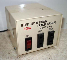 Step up/down transformer voltage converter 100 Watt
