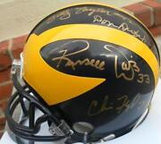 Signed Michigan Mini Helmet